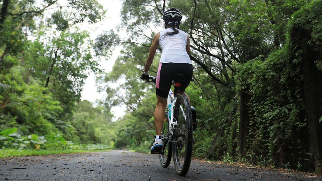 Bieganie a jazda na rowerze