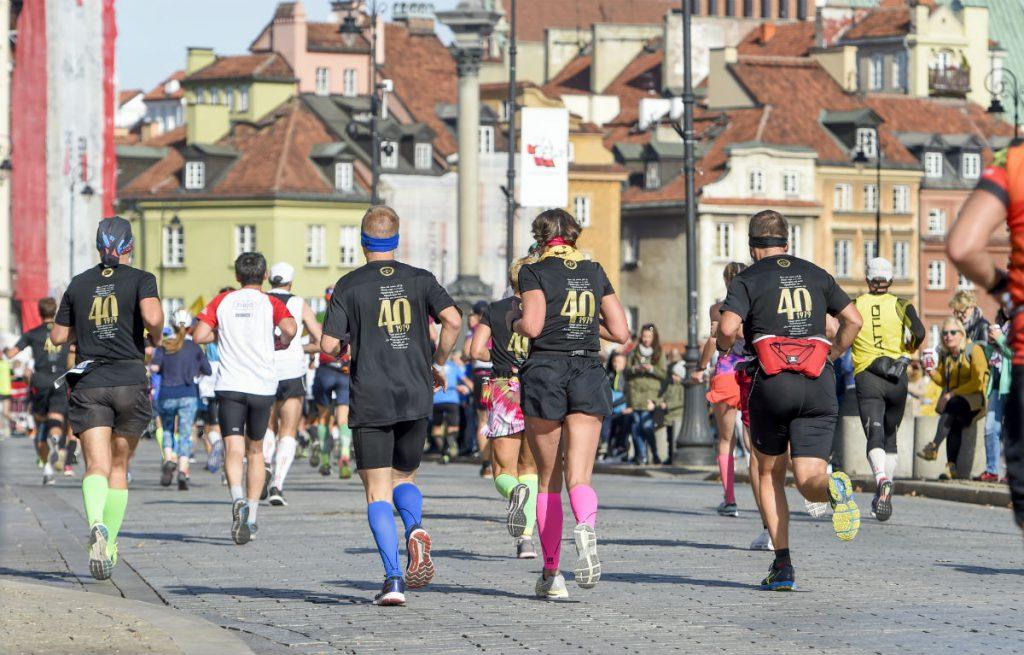 Trasa 41. PZU Maratonu Warszawskiego