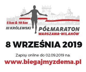 III Królewski Półmaraton Warszawa-Wilanów