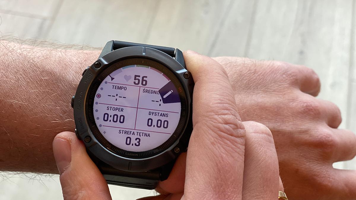 Test Garmin Fenix 6x Pro Saphire Serwis dla biegaczy
