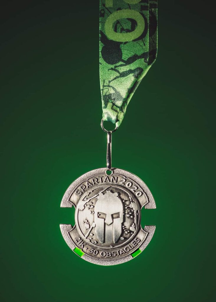 Spartan Race medal 21K - 30 przeszkód