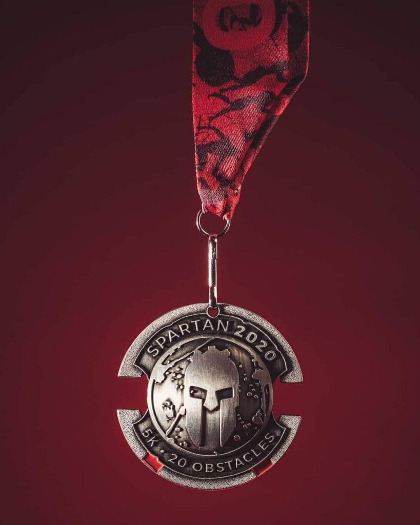 Spartan Race medal 5K - 20 przeszkód