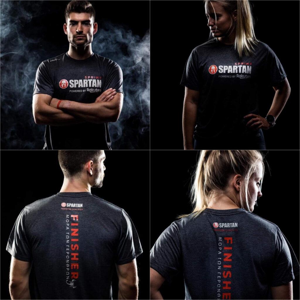 Spartan Race - prezentacja koszulki