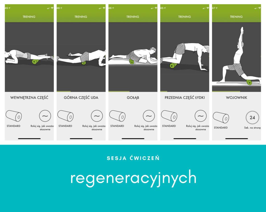 Aplikacja do ćwiczeń w domu - regeneracja i wzmacnianie