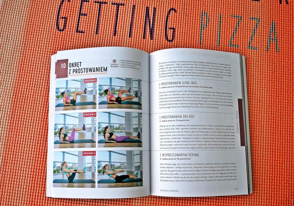Trening core - płaski brzuch, płaska sylwetka - recenzja książki