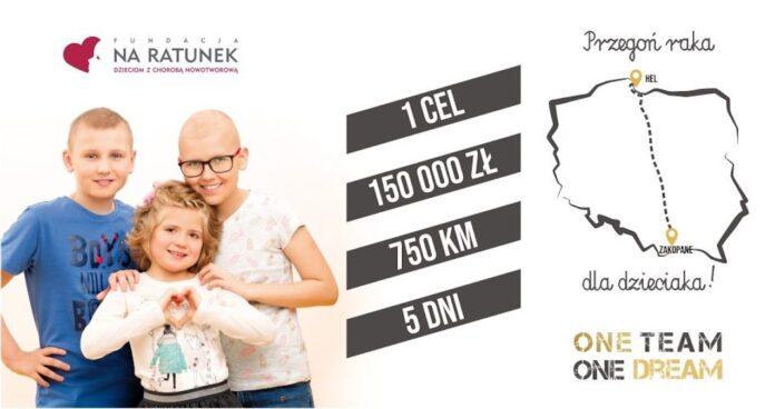 Przegoń raka dla dzieciaka! - ultra sztafeta przez Polskę.