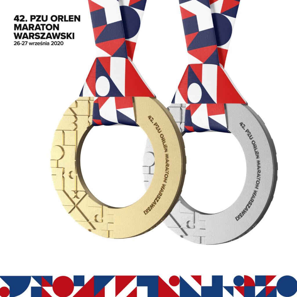 Medal 42. PZU Orlen Maratonu Warszawskiego