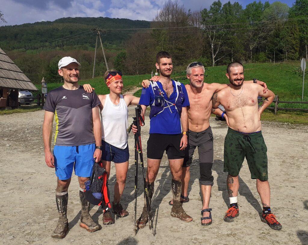 Ekipa finiszująca w Brzegach
