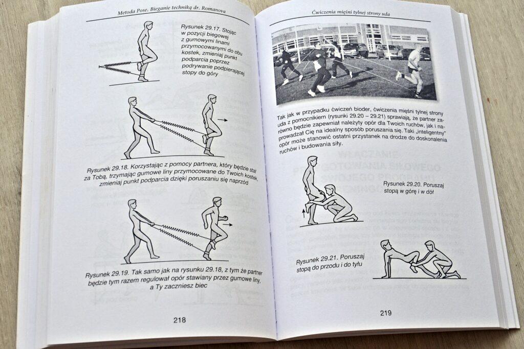 Ćwiczenia z gumą elastyczną.