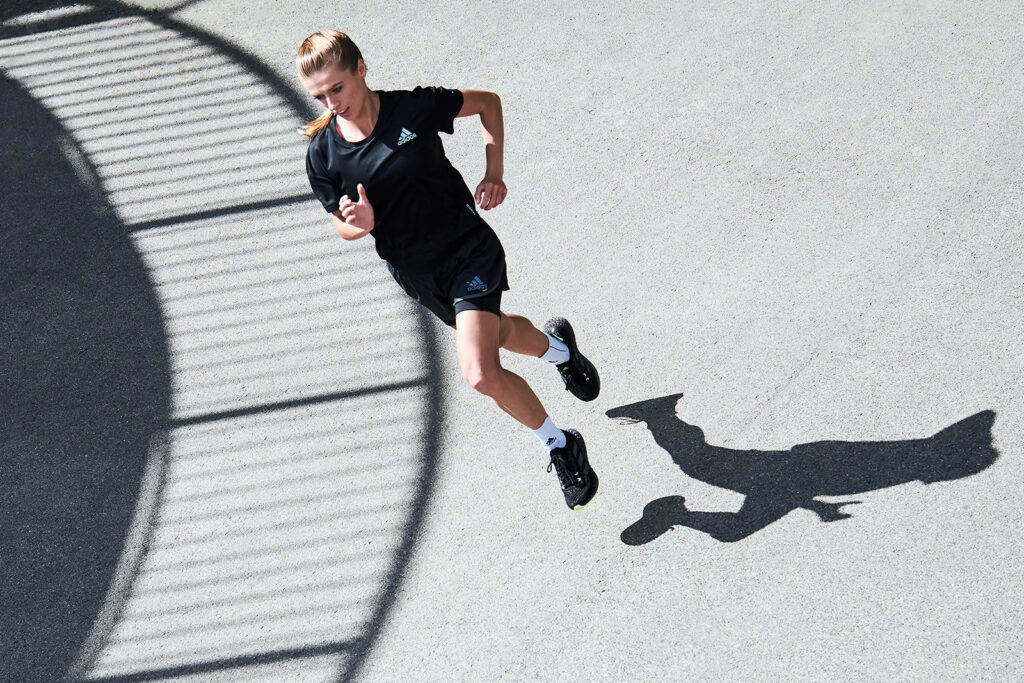 Przygotowania do półmaratonu wymagają dobrej organizacji (na zdj. adidas 4DFWD).