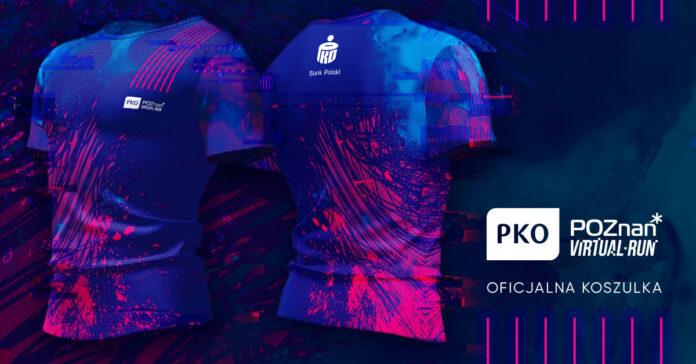 Koszulkę PKO Poznań Virtual Run wybrali sami biegacze.