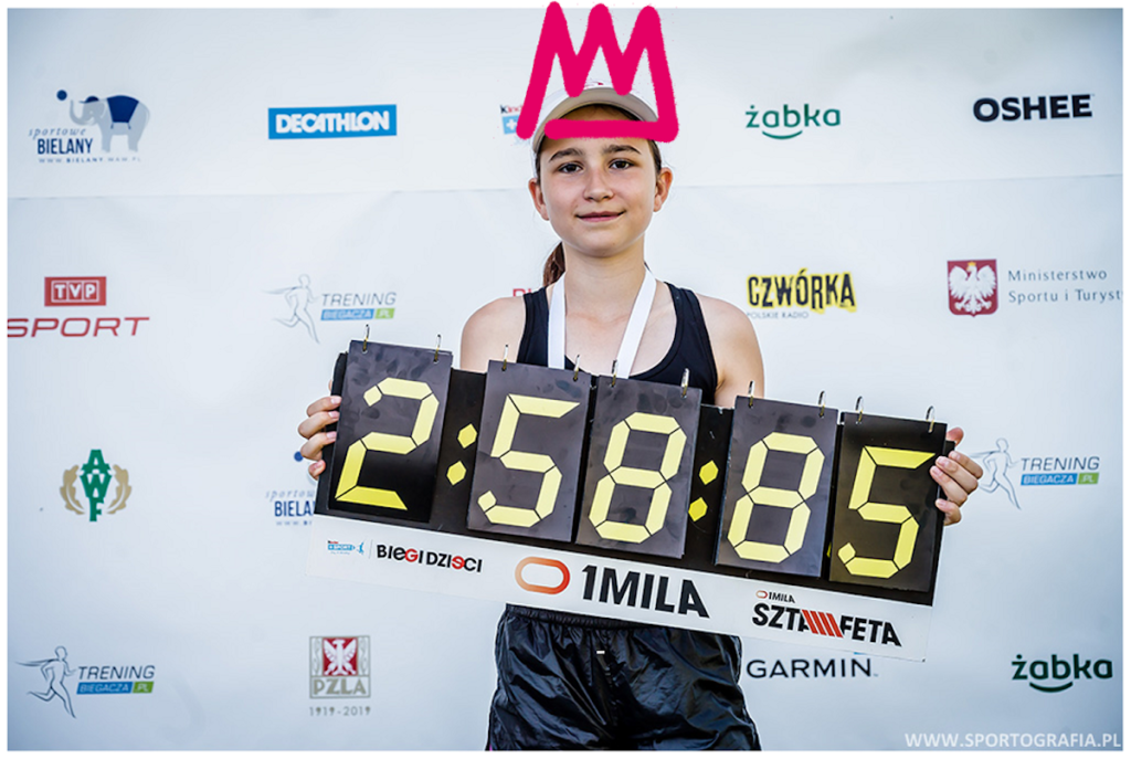 Celem akcji jest również pomoc w rozwoju sportowym młodym biegaczom.