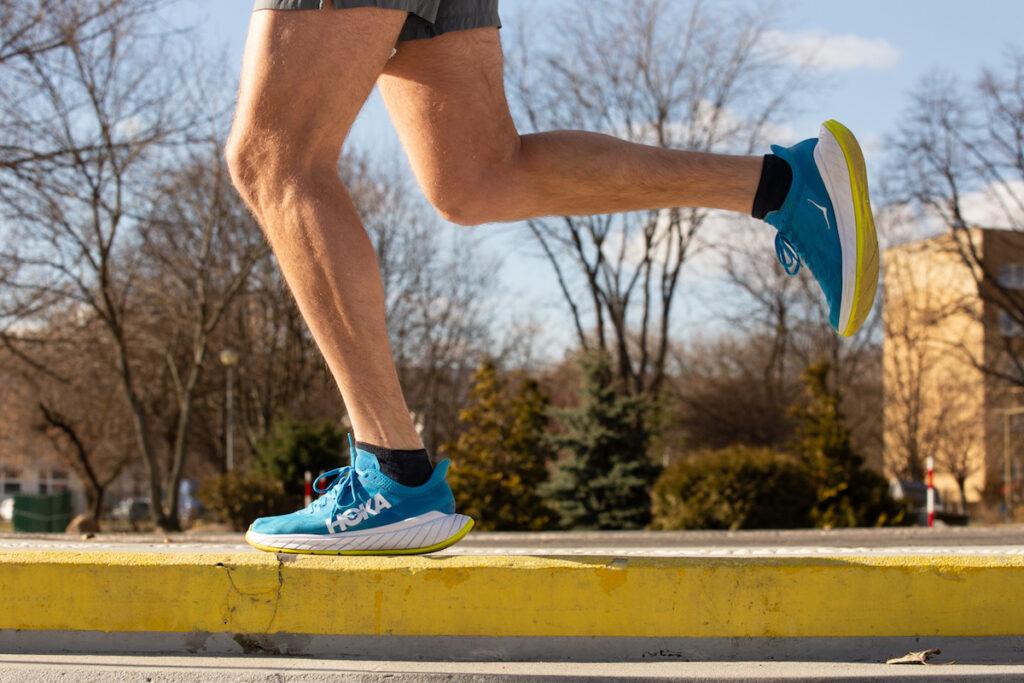 """Cała """"magia"""" tego buta jest odczuwalna przy szybszych prędkościach."""