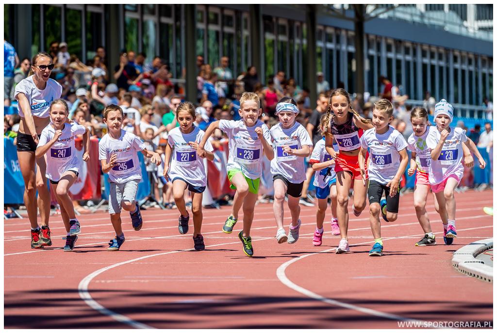 Poprzez udział w 1MILI wspierasz program stypendialny dla młodych sportowców.