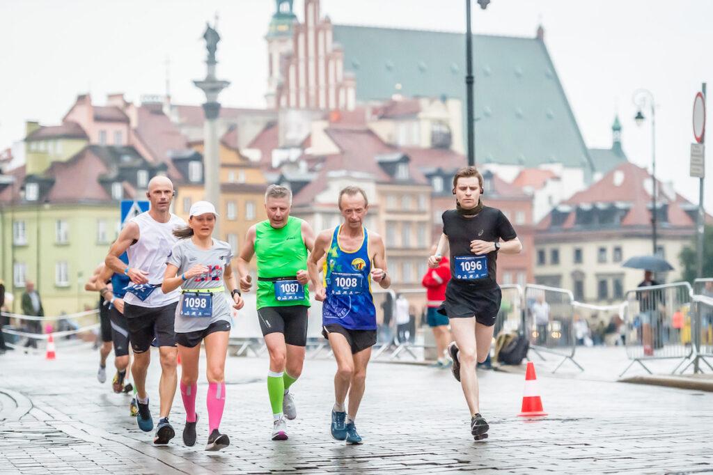 Maraton Warszawski to nie tylko impreza sportowa, ale także wielkie wydarzenie społeczne