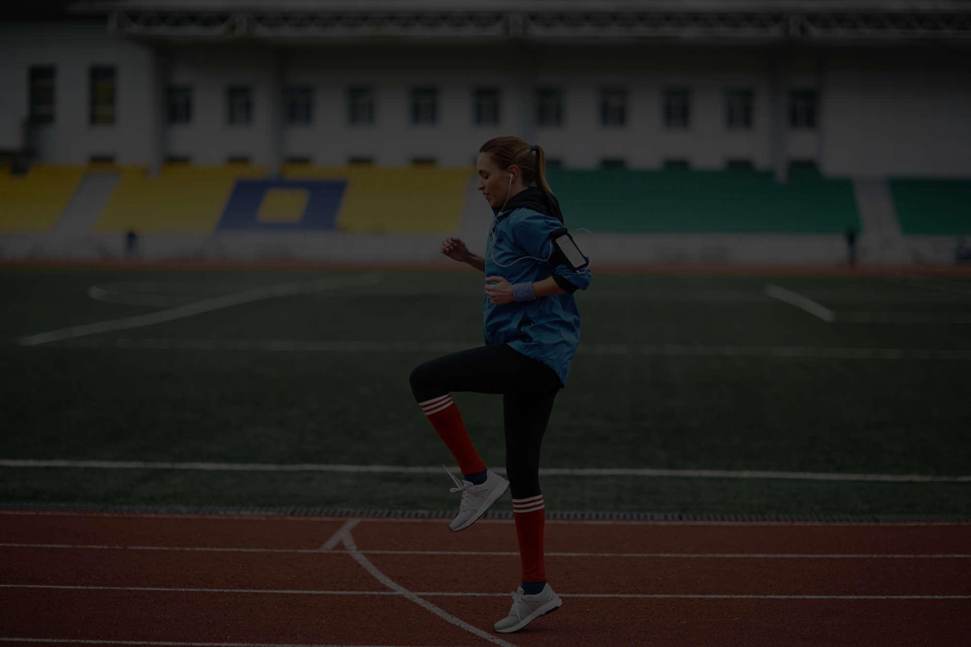 Rozgrzewka przed bieganiem