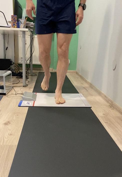 Diagnostyka wad stóp: badanie dynamiczne.
