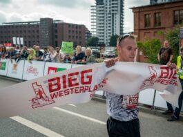 Zwycięzca Biegu Westerplatte - Adam Głogowski.