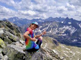 Paulina najlepiej czuje się na górskich ścieżkach. Źr.: prywatna galeria