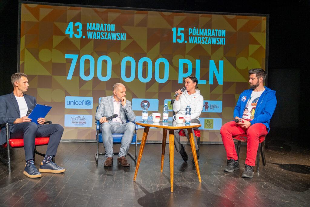 W ramach 15. Półmaratonu i 43. Maratonu dzięki uczestnikom akcji udało się zebrać łącznie już 700 tysięcy złotych na cele dobroczynne!