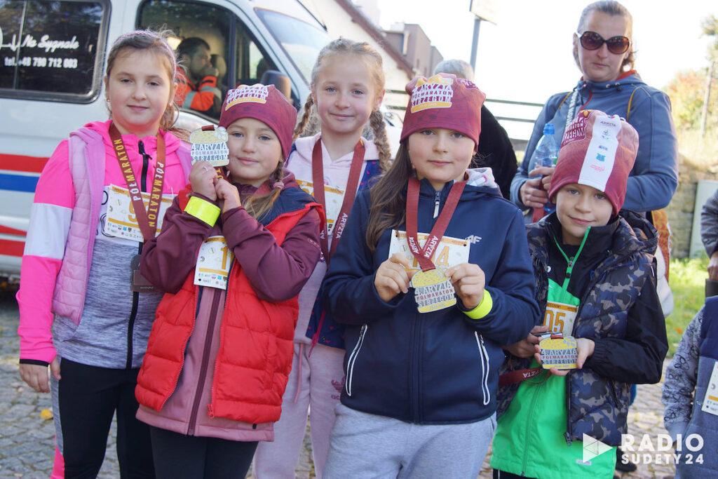 W ramach Półmaratonu rozegrano dodatkowe biegi dla dzieci i dorosłych.
