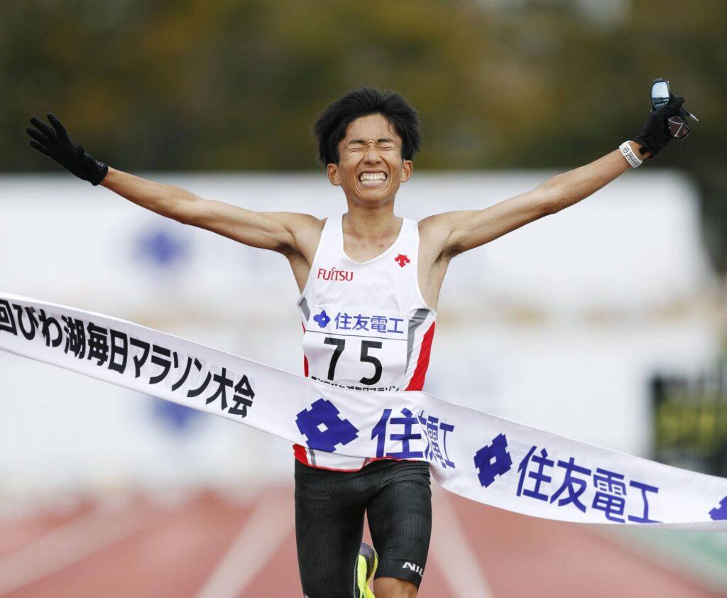 Kengo Suzuki, zdj. Kyodo