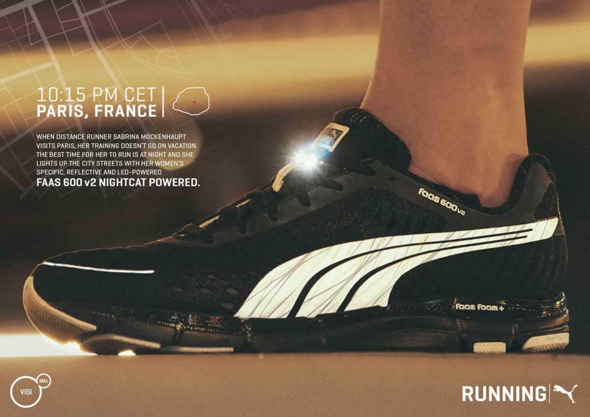 PUMA FOREVER FASTER sezon 2014 Serwis dla biegaczy