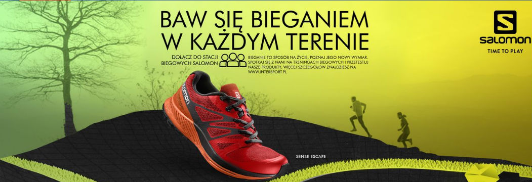 Zacznij biegać w terenie, korzystaj z promocji! Zapraszają